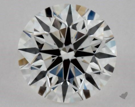 0.46 Carat F-VVS1 Excellent Cut Round Diamond