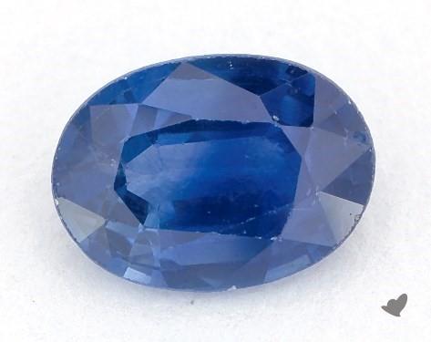 0.90 carat Oval Natural Blue Sapphire