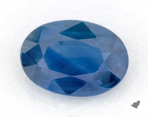 0.89 carat Oval Natural Blue Sapphire