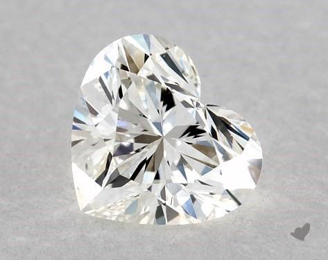 0.41 Carat H-VS1 Heart Shape Diamond