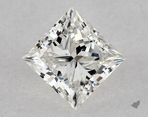 0.80 Carat I-VS2 Ideal Cut Princess Diamond