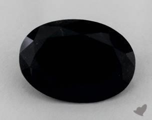 oval7.02 Carat Black