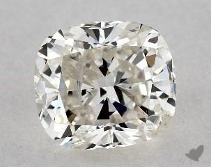 cushion modified0.84 Carat JI1
