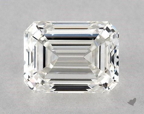 1.80 Carat G-VVS1 Emerald Cut Diamond
