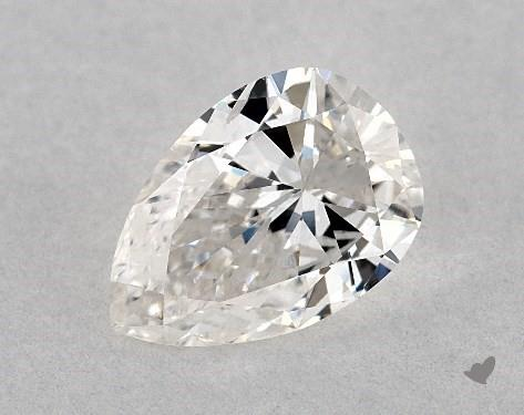 0.94 Carat H-SI2 Pear Shape Diamond