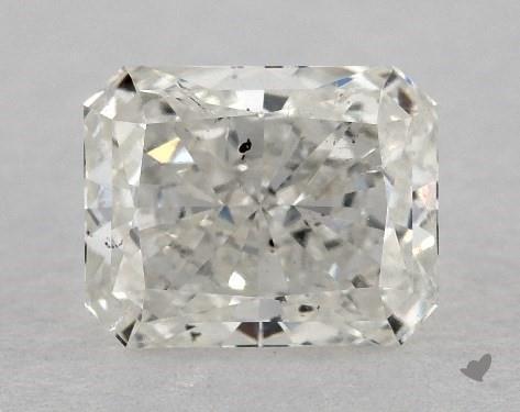 0.82 Carat H-SI2 Radiant Cut Diamond