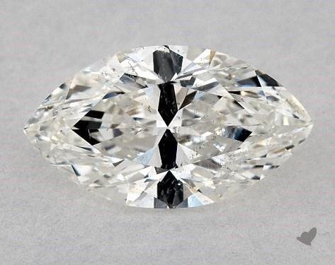 0.81 Carat H-SI2 Marquise Cut Diamond