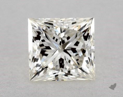 0.70 Carat J-VVS2 Ideal Cut Princess Diamond