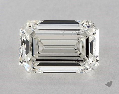 1.57 Carat H-SI1 Emerald Cut Diamond