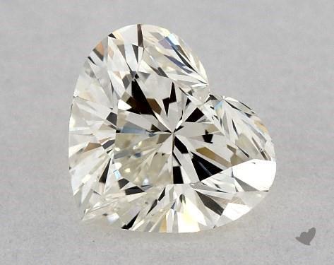 0.50 Carat J-VS2 Heart Shape Diamond