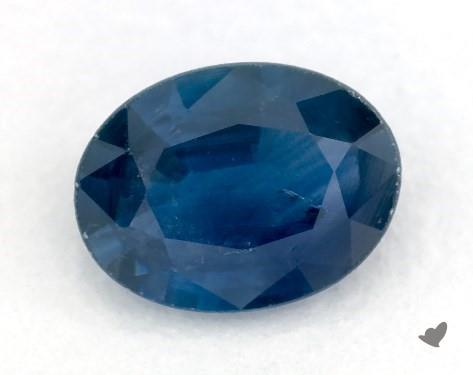 0.74 carat Oval Natural Blue Sapphire