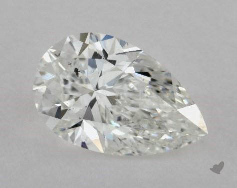 1.04 Carat D-SI1 Pear Shape Diamond