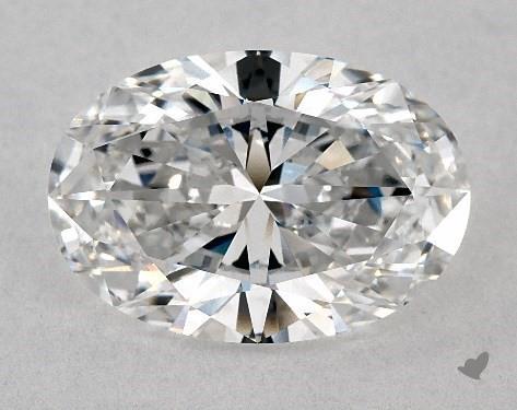 3.00 Carat D-FL Oval Cut Diamond