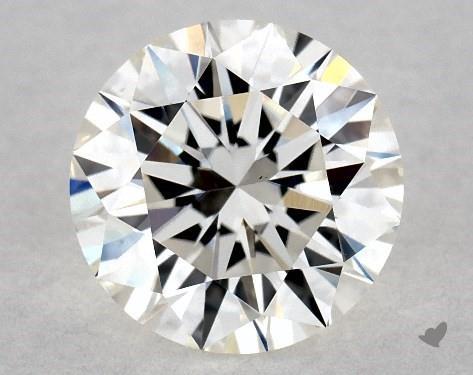 1.08 Carat G-VS2 Excellent Cut Round Diamond