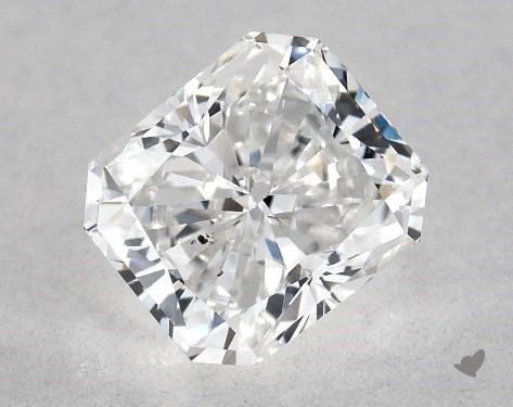 0.70 Carat E-SI1 Radiant Cut Diamond