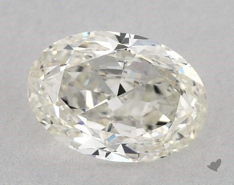 1.21 Carat J-VS1 Oval Cut Diamond