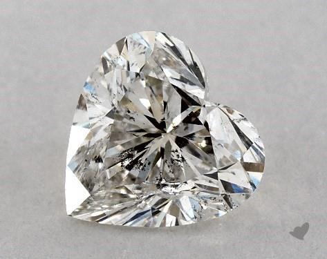 0.75 Carat J-I1 Heart Shape Diamond