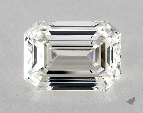 3.01 Carat H-SI1 Emerald Cut Diamond