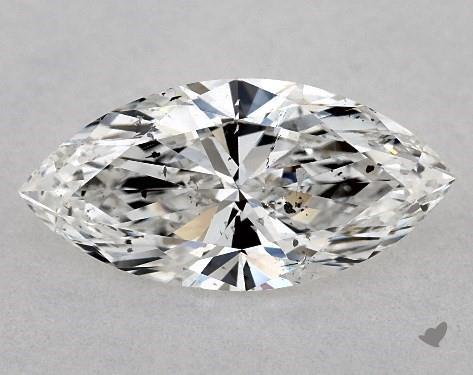 0.84 Carat E-SI2 Marquise Cut Diamond