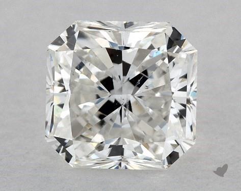 1.03 Carat G-SI1 Radiant Cut Diamond