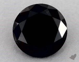 round0.89 Carat Black