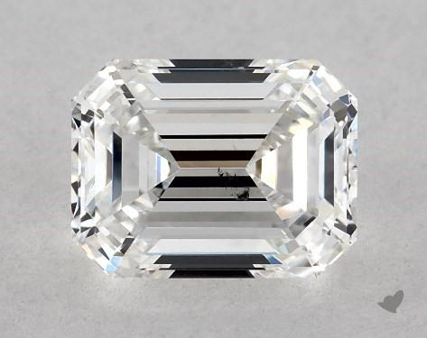 1.01 Carat F-SI1 Emerald Cut Diamond