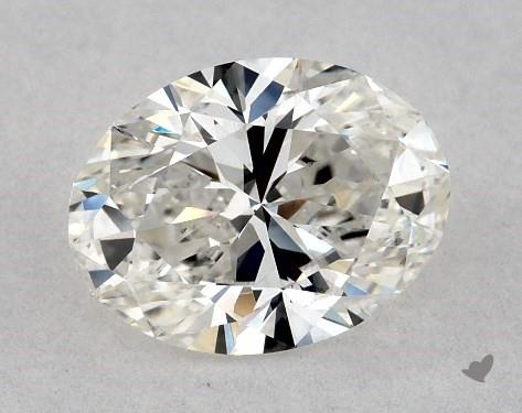 1.01 Carat G-SI1 Oval Cut Diamond