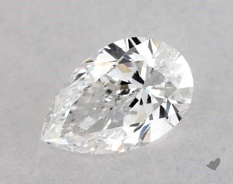 0.40 Carat D-SI1 Pear Shape Diamond