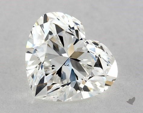 0.90 Carat H-VS2 Heart Shape Diamond