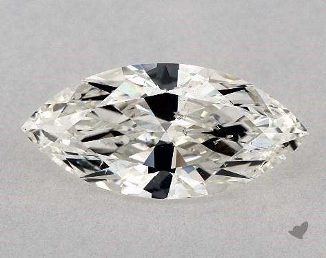 0.90 Carat I-SI2 Marquise Cut Diamond