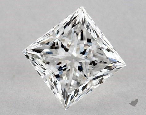 0.72 Carat E-SI2 Ideal Cut Princess Diamond