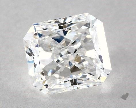 1.02 Carat E-SI1 Radiant Cut Diamond