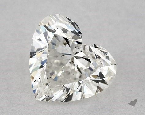 0.70 Carat H-SI2 Heart Shape Diamond