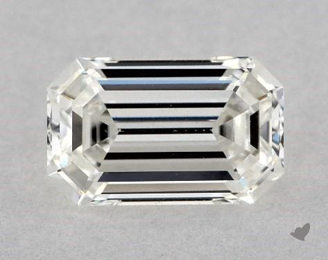 0.70 Carat H-VS2 Emerald Cut Diamond