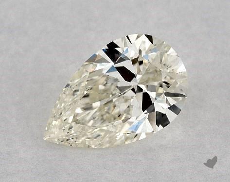 1.00 Carat K-VS2 Pear Shape Diamond