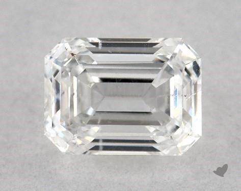 0.90 Carat F-SI2 Emerald Cut Diamond