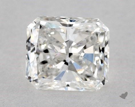 1.00 Carat F-SI1 Radiant Cut Diamond