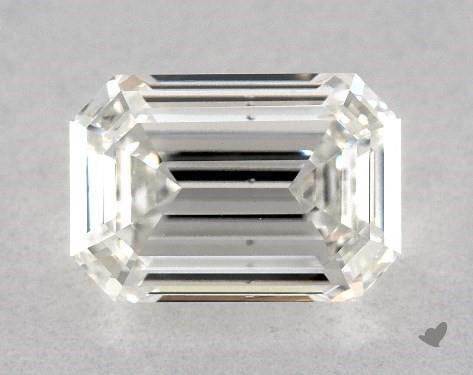 1.50 Carat H-SI1 Emerald Cut Diamond