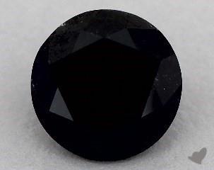 round1.26 Carat Black