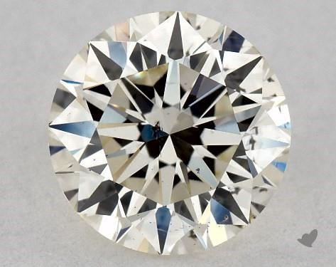 0.70 Carat L-SI1 Excellent Cut Round Diamond