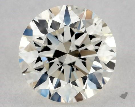 0.70 Carat L-SI1 Excellent Cut Round Diamond