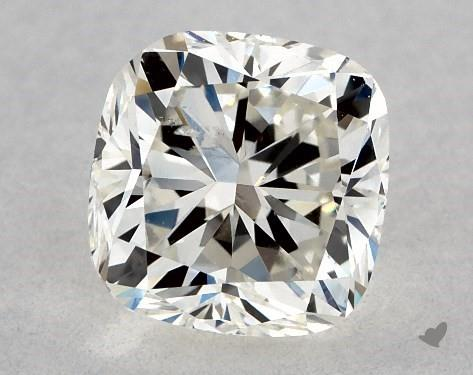 0.73 Carat K-SI1 Cushion Modified Cut Diamond