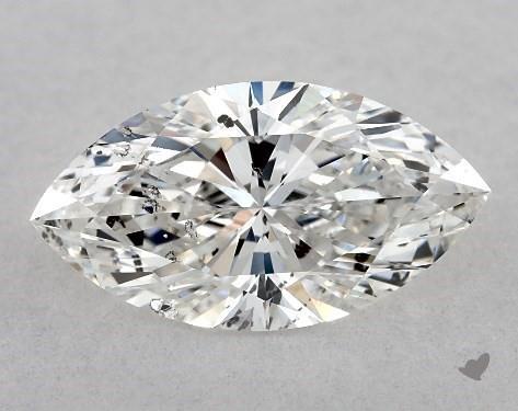 0.81 Carat E-I1 Marquise Cut Diamond
