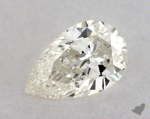 pear0.76 Carat JSI2