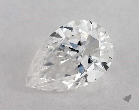 1.03 Carat E-SI1 Pear Shape Diamond