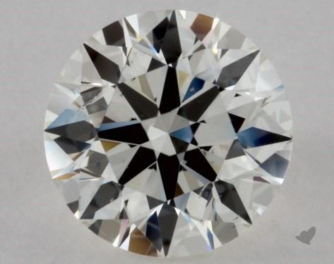 0.71 Carat J-SI1 Excellent Cut Round Diamond