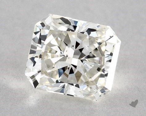 0.82 Carat J-VS2 Radiant Cut Diamond