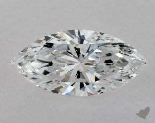 0.80 CARAT D-VVS1 MARQUISE CUT DIAMOND