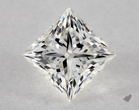 0.82 Carat H-VS2 Ideal Cut Princess Diamond