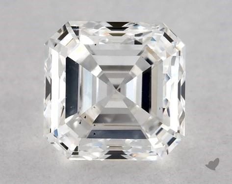 0.70 Carat D-VS2 Square Emerald Cut Diamond